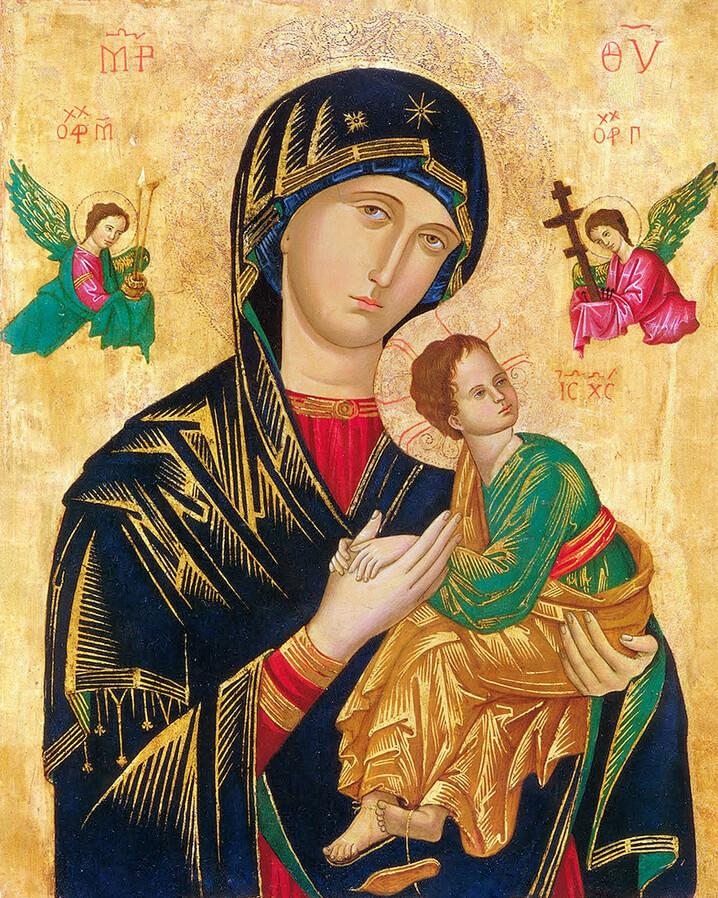Linh ảnh Đức Mẹ Hằng Cứu Giúp