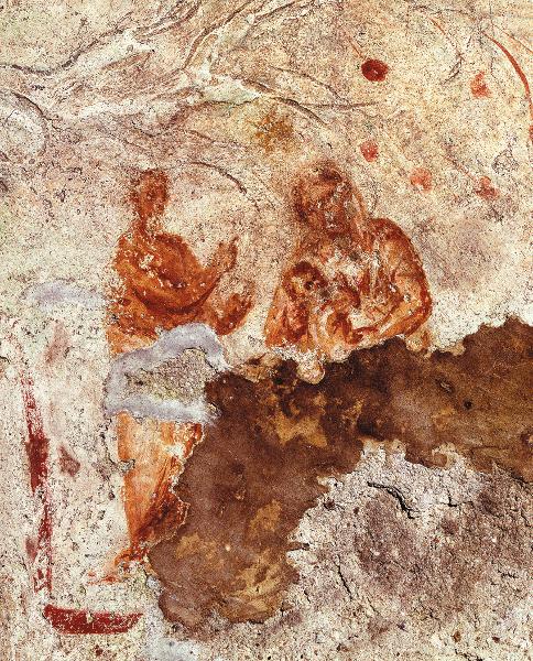 Bức tranh ở hầm mộ Thánh Priscilla