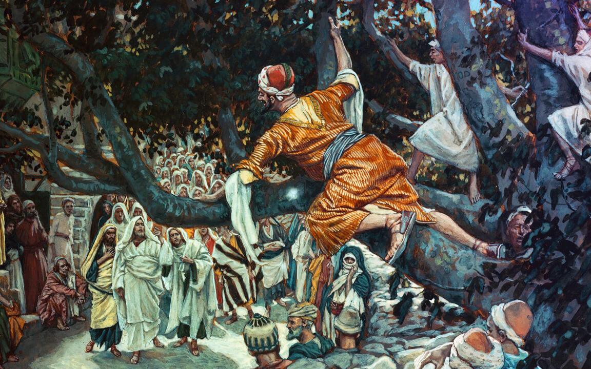 Chúa Giê-su kêu gọi ông Da-kêu